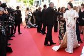 Cận cảnh bộ váy cầu kỳ trên thảm đỏ Cannes của Lý Nhã Kỳ