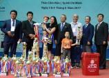 Cá Koi Việt lập kỳ tích tại Young Koi Show 2017