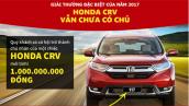 HONDA CR-V chưa có chủ, tham gia ngay để thắng giải