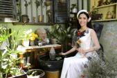 Hoa hậu Phan Thu Quyên tươi trẻ diện áo dài cách tân