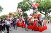 Lễ hội kem mùa hè thu hút hàng nghìn người tại phố đi bộ Hà Nội