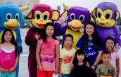 Hoạt động nghệ thuật tại Sun World Danang Wonders hút du khách nhí