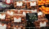 Hình ảnh trái cây Việt trong siêu thị nước ngoài
