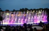 Đài nhạc nước kiểu Las Vegas ở Việt Nam