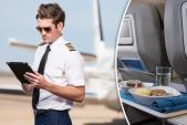 Tại sao các phi công không có suất ăn giống nhau?