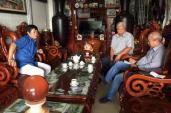 Tào Văn Lang ở làng... tỷ phú