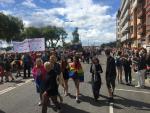 Stockholm Pride 2017: Nửa triệu người tham gia lễ hội 7 sắc cầu vồng