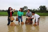 Tour trải nghiệm làng quê nông thôn mới hút khách