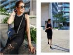 Thanh Hằng, Gigi Hadid diện váy và sneaker như thế nào?