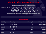 Kết quả xổ số Vietlott ngày 20/9: 76 tỷ đồng chờ người may mắn