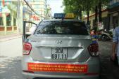 Đề xuất bỏ biển cấm taxi để công bằng với Uber, Grab