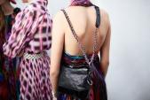 Mẫu túi xách của Chanel được lăng xê ở Tuần lễ thời trang Seoul