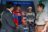 Hoàn tiền cho du khách Thái Lan bị taxi