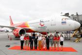 Vietjet Thailand ra mắt tàu bay mới mang biểu tượng du lịch Thái Lan