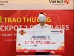 Quay số sau 5 ngày, khách hàng bất ngờ biết trúng Jackpot hơn 5 tỷ