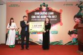 Quỹ khuyến học sữa đậu nành Việt Nam thực hiện chương trình Dinh dưỡng cho trẻ lần 2