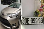 Giật mình chiếc Toyota Vios biển 30E-999.99 vừa được bán với giá