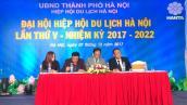 Ông Nguyễn Mạnh Thản được bầu làm Chủ tịch Hiệp hội Du lịch Hà Nội