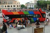 Hà Nội thí điểm tuyến xe khách du lịch 2 tầng trước Tết Nguyên đán