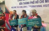 TP Hồ Chí Minh đã đón 6 triệu du khách quốc tế
