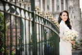 'Cô gái vàng' Hoa hậu Việt Nam giành giải Nhất sinh viên nghiên cứu khoa học
