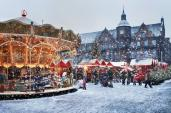Ngôi làng đầy tuyết rơi dịp Giáng sinh ngay giữa lòng Hà Nội sắp lộ diện