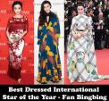 HOT: Năm 2017, Phạm Băng Băng chính là ngôi sao mặc đẹp nhất thế giới