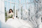 Thí sinh Hoa hậu Hoàn vũ Việt Nam lộng lẫy trong váy cưới
