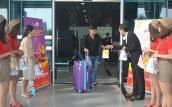 Hơn 200 hành khách Hàn Quốc tới Đà Nẵng ngày đầu năm 2018