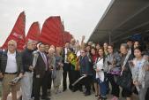Quảng Ninh chào đón những vị khách quốc tế đầu tiên