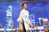 Á hậu Lệ Hằng cùng Hoa hậu H'Hen Niê đọ dáng mảnh mai với áo dài