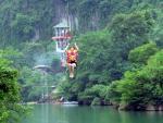 Phong Nha-Kẻ Bàng sắp có hệ thống đu dây mạo hiểm dài nhất thế giới