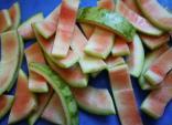 3 món ăn từ vỏ dưa hấu vừa ngon vừa giảm cân hiệu quả