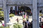 Hàng chục nghìn du khách dự Hội xuân Mở Cổng Trời Fansipan