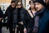 Khi người mẫu Gigi Hadid diện quần hàng hiệu sang chảnh
