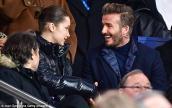 Bella Hadid mặc đồ gợi cảm, trò chuyện vui vẻ cùng David Beckham