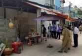 Cảnh sát trở lại hiện trường vụ thảm sát 5 người ở Sài Gòn