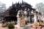 Khám phá ngôi chùa gỗ teak độc nhất ở Myanmar