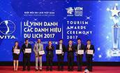 Vinh danh các doanh nghiệp Du lịch Việt Nam, cá nhân xuất sắc năm 2017