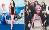 Nhiều váy áo hàng hiệu, nhưng Hoa hậu Hương Giang cưng nhất vẫn là chiếc áo hồng này!