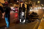 Tài xế say xỉn khi lái ôtô tông văng người đàn ông khỏi cầu Kênh Tẻ