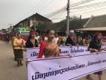 Ảnh: Thành phố Luangprabang của Lào đón mừng năm mới
