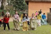 Nhiều hoạt động vui chơi tại Bảo tàng Dân tộc học dịp 30-4