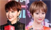 5 kiểu tóc ngắn cực đáng yêu cho nàng mặt O-line