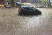 Cách xử lý khi ô tô bị ngập nước
