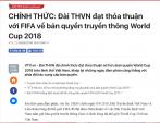 VTV ra thông báo cuối về việc mua bản quyền World Cup 2018, hàng triệu người vỡ òa