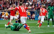 Kết quả tỷ số giữa Nga và Saudi Arabia giải Worl Cup 2018 lúc 22h ngày 14/6