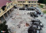 Khởi tố vụ gây rối, phá trụ sở công quyền tại Bình Thuận