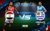 Xem tường thuật trực tiếp Ai Cập vs Uruguay, bảng A World Cup 2018