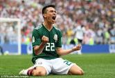 Đức 0-1 Mexico: